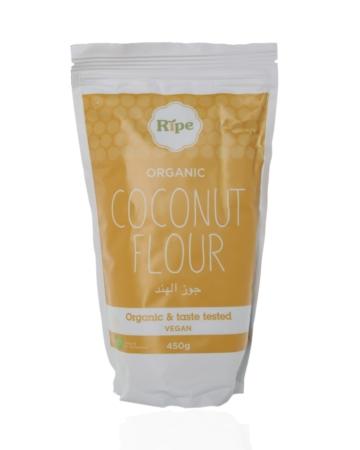 Coconut flour, Ripe