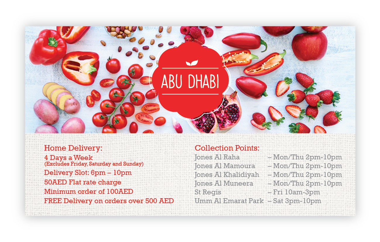 Ripe Organic Home Delivery in Abu Dhai