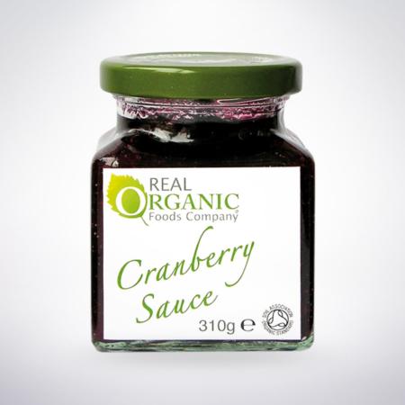organic Cranberry Sauce, Real Organic