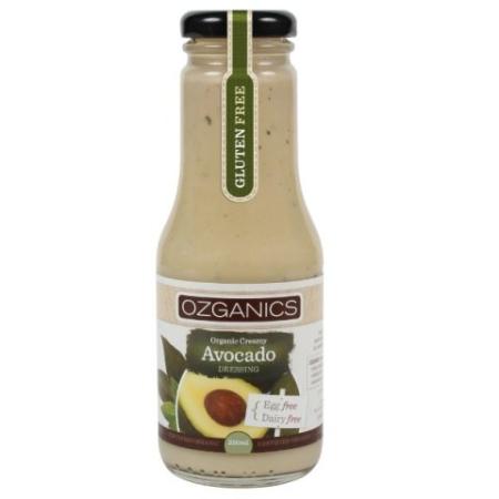 Creamy Avocado Dressing, Ozganics