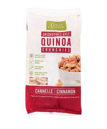 Quinoa Crunchies Cinnamon,  Gogo Quinoa