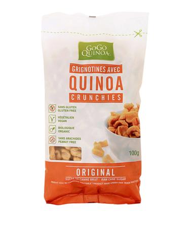 Quinoa Crunchies Original, Gogo Quinoa