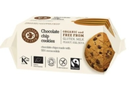 DOVES FARM CHOCOLATE CHIP COOKIES 180G