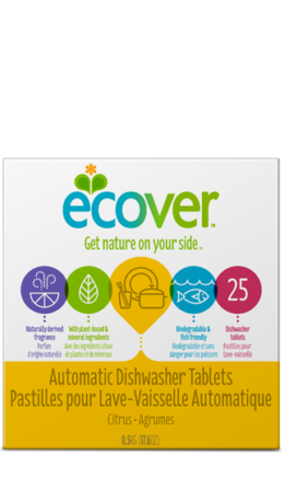 Dishwasher Tablets 25pk, Ecover