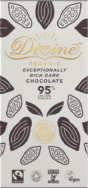 Organic 95% Dark Chocolate, Divine
