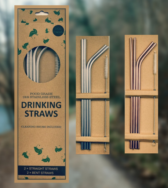Stainless Steel Straws, Eco Friendly