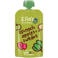 ELLAS SPINACH APPLE AND SWEDE 120G