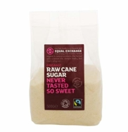 EQUAL EXCHANGE OG RAW CANE SUGAR 500G
