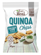 Quinoa Chips Sour Cream & Chives, Eat Real
