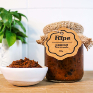 Eggplant Paste, Ripe