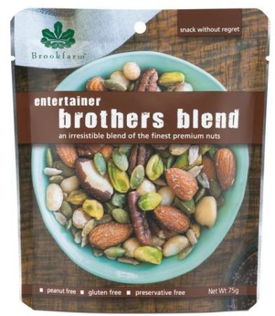 Entertainer Brothers Nut Blend, Brookfarm