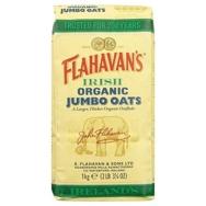FLAHAVAN'S ORGANIC JUMBO OATS 1KG