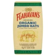 Organic Jumbo Oats, Flahavan's