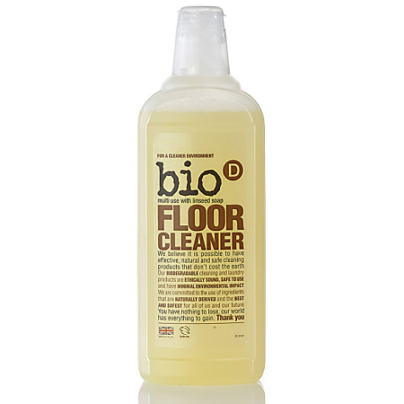 Floor Cleaner with Linseed Soap, Bio-D