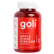 GOLI APPLE CIDER VINEGAR GUMMIES 60'S