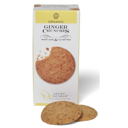 Ginger Crunches, Against the Grain