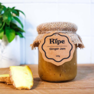 RIPE SPREAD GINGER JAM SUGAR FREE 220ML