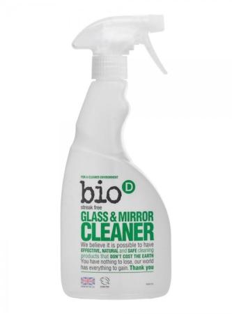 Glass & Mirror Cleaner Spray, Bio-D