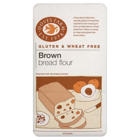 Gluten Free Brown Bread Flour, Doves Farm