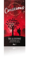 CONSCIOUS GOJI AND COCONUT RAW BAR 60G