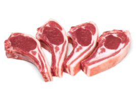 Grass fed- Lamb Chops NZ 4 x 80g, Prime Gourmet