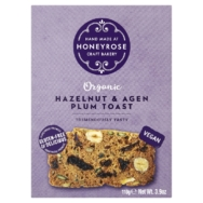 Hazelnut & Agen Plum Toast, Honeyrose