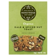 Kale & Spiced Nut Toast, Honeyrose