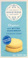 HONEYROSE ALL BUTTER SHORTBREAD 125G