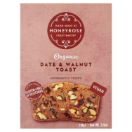 HONEYROSE DATE & WALNUT TOAST 110G