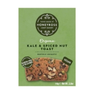 HONEYROSE KALE & SPICED NUT TOAST 110G
