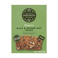 HONEYROSE KALE & SPICED NUT TOAST 110G