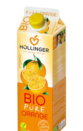 Hollinger Bio Pure Orange Juice 1L 2