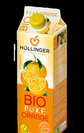 Hollinger Bio Pure Orange Juice 1L 2