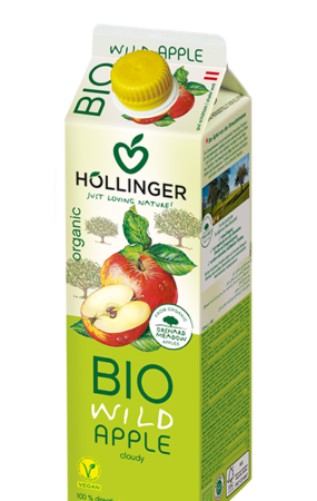 Hollinger Bio Wilder Apple Juice 1L