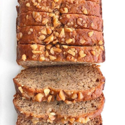 Honey Walnut Banana Cake
