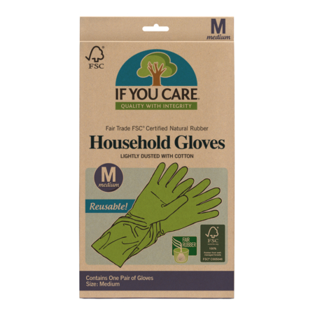 Household Gloves Size M, If You Care