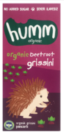 Beetroot Grissini, Humm Organic