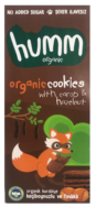 Cookies With Carob And Hazelnut, Humm Organic