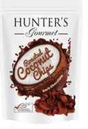 Dark Chocolate Roasted Coconut Chips, Hunters