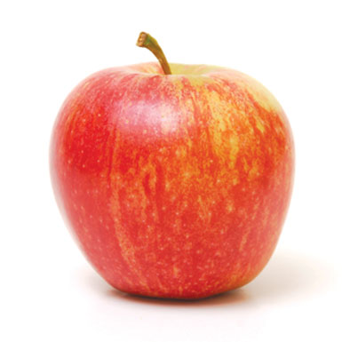 Ripe Organic Apple, Gala