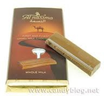 Camel Milk Chocolate Bar Whole Milk, Al Nassma