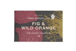 Raw Chocolate Fig & Wild Orange, Pana Chocolate