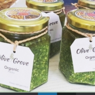 Fresh Basil Pesto, Olive Grove