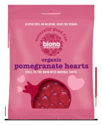 Jelly Pomegranate Hearts, Biona
