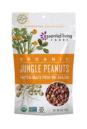 Organic Wild Jungle Peanuts, Essential Living Foods