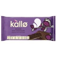 KALLO BELGIAN MILK CHOCOLATE SQUARES 90G