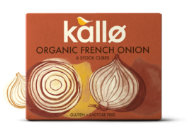 Organic French Onion Stock Cubes, Kallo