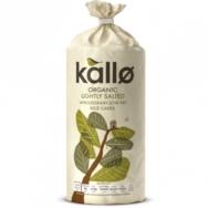 KALLO W/GRAIN+SALT RICECAKES 130G