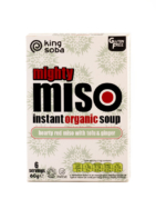 KING SOBA MISO SOUP - GINGER 60G