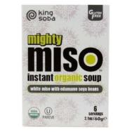 KING SOBA MISO SOUP SOY 60G